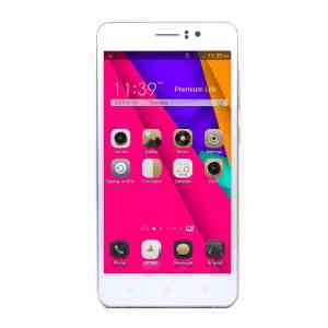 Ultra-thin Cell Phone M5 Smartphone 5 5 Inch Thouch Screen Android 4.4 Moblie Phone GSMWCDMA Dual Sim Phone White