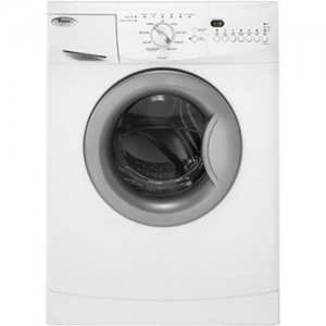 Whirlpool WFC7500VW White 24 Front Load Compact Washer