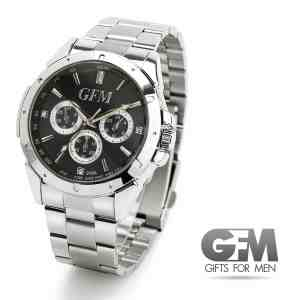 Best Gifts for Men - Designer Sports Watch in Stainless Steel