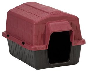 Dosckocil (Petmate) DDS25118 Barnhome III Dog House, X-Small, Samba RedBlack