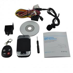 GPS motorcycle motorbike tracker GPS303G listen in remote control TK103B