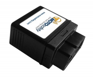 MotoSafety MPVAS1 Teen Safety GPS Vehicle Tracking System & OBD Device