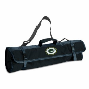 NFL Green Bay Packers 3-Piece BBQ Tool Tote