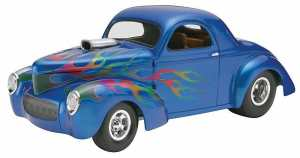 Revell Monogram Willys Street Rod Plastic Model Kit, Scale 125