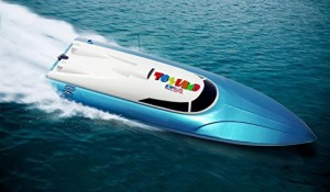 Toyland® Rc Remote Control Fun Race Speed Boat (Great for Beginners-Colors Vary)