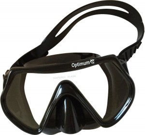 Diving Mask, Scuba Diving, Free Diving, Snorkeling Mask, Adults, Black, Flexible Silicone, Tempered Glass Lens, The Optimum Mask, For Comfort, Clarity And Durability, Perfect Dives Every Time