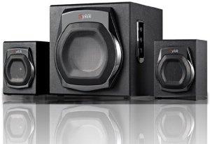 Sykik Sound Wireless Bluetooth speaker Powerful Bass system w 3.5mm Aux Port Home Audio
