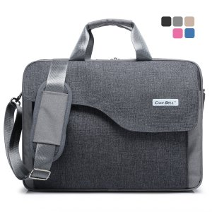 CoolBell(TM)15.6 Inch Nylon Laptop Bag Shoulder Bag With Strap Multicompartment Messenger Hand Bag Tablet Briefcase For iPad