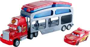 DisneyPixar Cars Color Change Mack Dip & Dunk Trailer