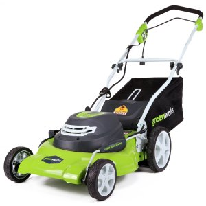 GreenWorks 25022 12 Amp Corded 20-Inch Lawn Mower