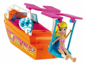 Polly Pocket Adventure Cruisin' Boat