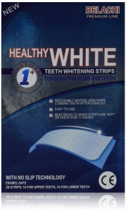 Belachi Healthy White Teeth Whitening Kit Professional Strength 28 Count 14 Day Supply of Strips