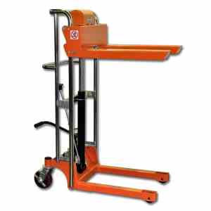 Bolton Tools New Foot Operated Pallet Lift Stacker Forklift Truck - 880 LB of Capacity - 43.3 Max Height - Model TF40-11