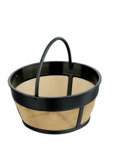 Hamilton Beach 80675 Permanent Gold Tone Filter, 8 to 12-Cups