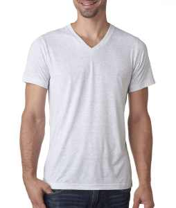 Canvas Men's Triblend V-Neck T-Shirt 3415
