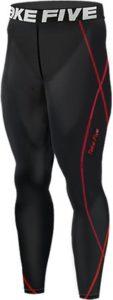 New 197 Black Skin Tights Compression Leggings Base Layer Running Pants Mens