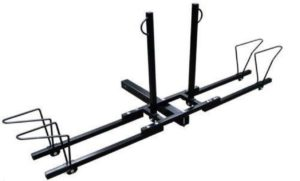 New Heavy Duty 2 Bike Bicycle 2 Hitch Mount Carrier Platform Rack Car Truck SUV