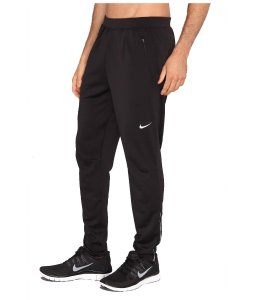 Nike MEN'S ATHLETIC Track Tight PANTS 684702-010 BLACK