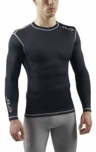Sub Sports DUAL Men's Compression Base Layer Long Sleeve Top