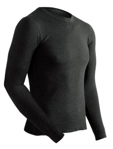 ColdPruf Men's Enthusiast Single Layer Long-Sleeve Crew-Neck Base Layer Top