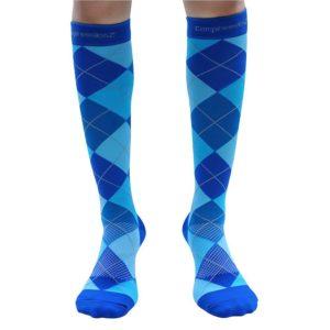 Compression Socks 30-40mmHg (1 Pair ) - Best High Performance Athletic Running Socks - Men & Women