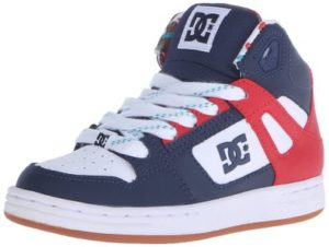 DC Rebound SE Skate Sneaker (Little KidBig Kid)