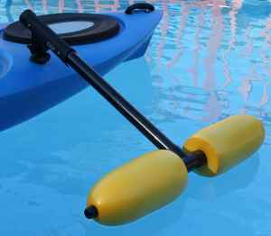 Kayak Outriggers Stabilizers w YELLOW FLOATS
