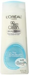 L'Oreal Paris Go 360 Clean, Deep Facial Cleanser for Sensitive Skin, 6-Fluid Ounce by L'Oreal Paris