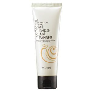 [MIZON] Snail Foam Cleanser (Snail Cushion Foam Cleanser 120ml)