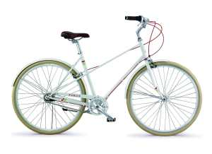 The PUBLIC Bikes M7i Mixte Style Step-Over 7-Speed Comfort City Bike