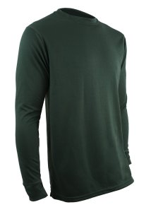 Polarmax Men's Double Base Layer Long Sleeve Crew Tee