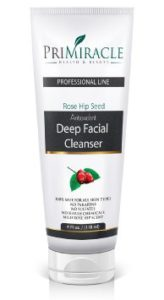 PriMiracle Deep Facial Cleanser and Face Wash with Rosehip Seed Oil for Skin,