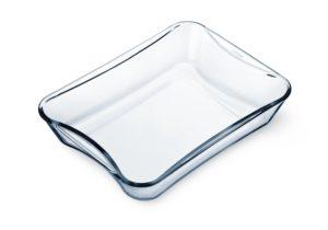 Simax Glassware 7216 Rectangular Casserole Pan, 2.5-Quart
