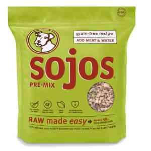 Sojos Freeze-Dried Raw Dry Dog Food Mix