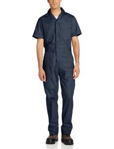 Berne Men's Poplin Short Sleeve Coverall