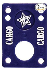 Cargo 18 Rubber Riser Pads (Set of 2)