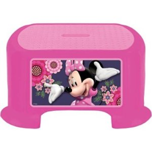 Kids Only! Disney Minnie Mouse B&B Step Stool