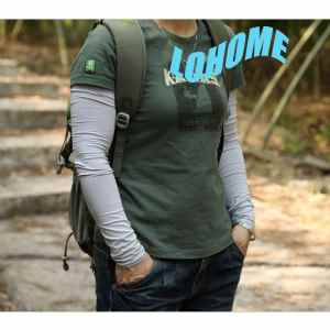 LOHOME(TM) Unisex Summer Outdoor Anti UV Sun Protection Cycling Driving Fishing Long Oversleeve Arm Sleeve Cover For Man And Woman (Free Size) (Gray)