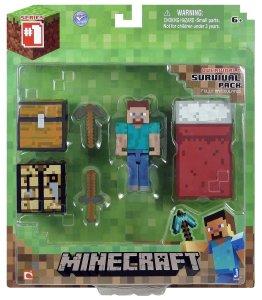 Minecraft Core Player Survival Pack Action Figure