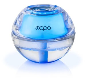 Mopo Cool Mist Humidifier Mini Portable Crystal Air Humidifier Super Quiet Air Cool Mist with Automatic Shut Off, Great for Home Office or Bedroom (Blue)