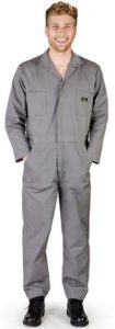 Natural Workwear - Mens Long Sleeve Basic Blended Work Coverall