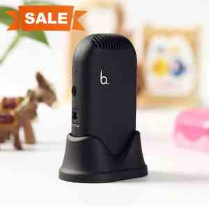New Improved,HAYATA Mini-Mate Personal Ionic Air Purifier - Helps With Allergies - Portable Fresher, Necklace Ionizer ,USB Rechargeable.Smell Eliminator Remove Smoke and Bad Odors
