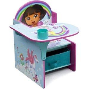 Nickelodeon Dora Chair Desk, Scratch-resistant finish,