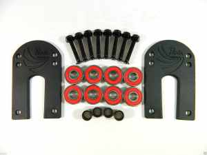 Paris 18 Riser Pad + ABEC 7 Bearings + Spacers + 1.25'' Hardware