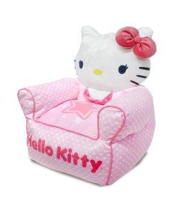 Sanrio Hello Kitty Figural Toddler Bean Bag Sofa Chair