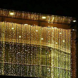Valuetom 304 LED Twinkle String Lights Fairy Curtain