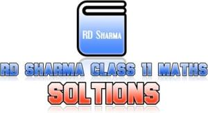 RD Sharma Class 11 Maths Solutions for all chapters in pdf.RD Sharma class 12 solutions