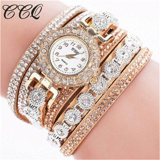 Très Belle Montre Bracelet Pour Dames Avec Strass