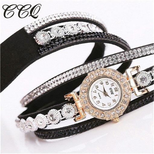 Très Belle Montre Bracelet Pour Dames Avec Strass 5