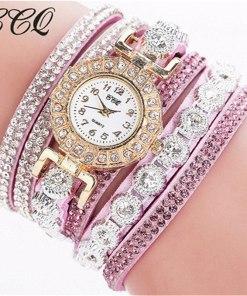 Très Belle Montre Bracelet Pour Dames Avec Strass 3